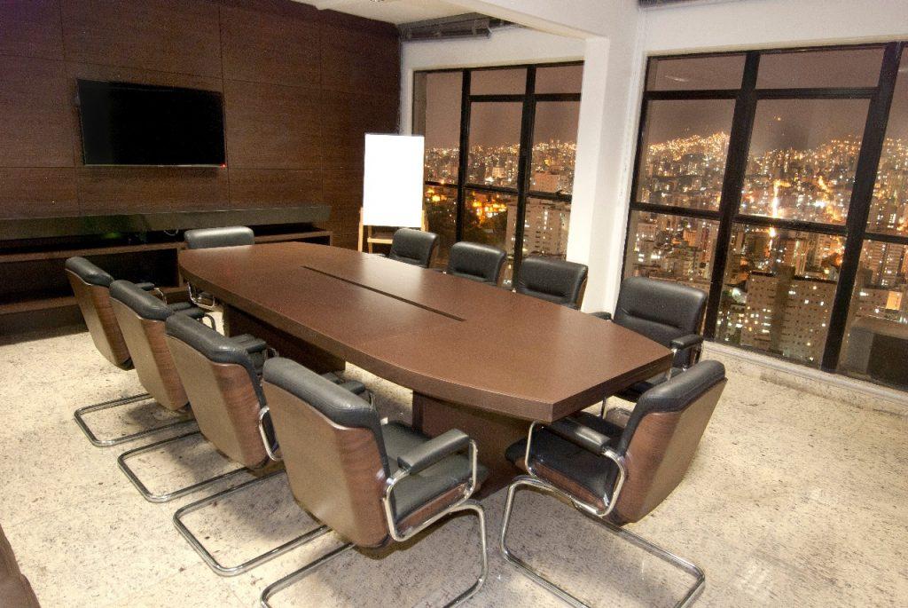 aluguel  de sala de reunião em BH