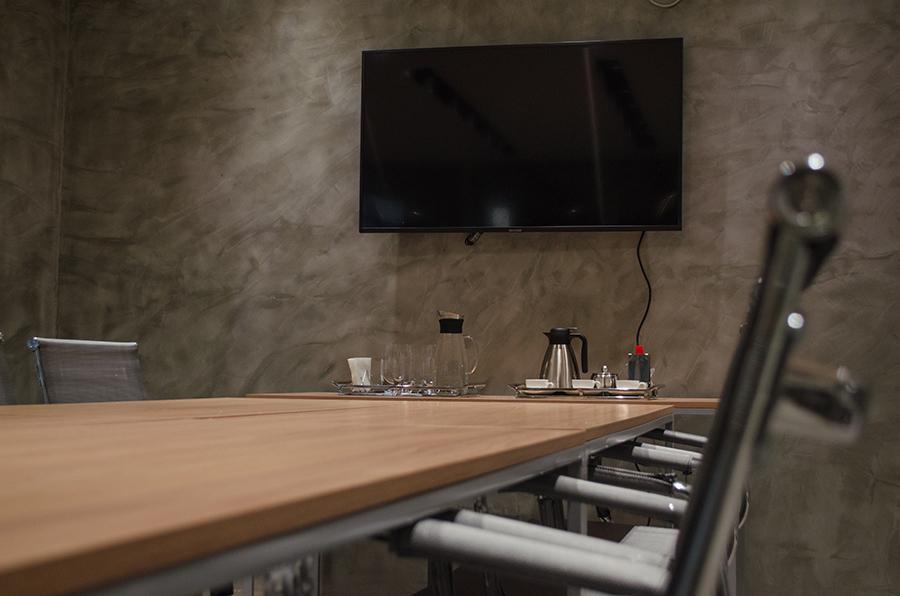 sala de reunião da synegyco em BH